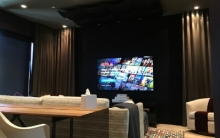 Clean Power Drives High Performance A/V Systems in San Francisco Couple's Media Room