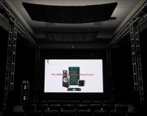 Alcons Audio Demos CRMSC-SRHV Speaker in Immersive Home Theater