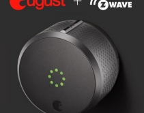 August Launches Z-Wave Smart Lock for Home-Automation and Security Pros at ISC