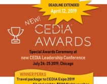 New CEDIA Awards Celebration & Leadership Conference Launches
