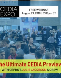 Julie Jacobson's Ultimate CEDIA Expo 2018 Preview