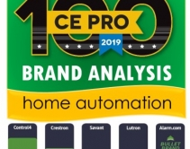 Control4, Crestron, Savant Top Home-Automation Charts - CE Pro 100 Brand Analysis 2019