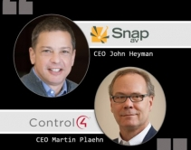 Control4, SnapAV CEO Interviews: Analyzing the Home Automation Merger