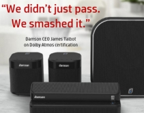 Damson Claims First Dolby Atmos Wireless Audio System with Compact, Modular Components