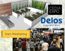 Escape CEDIA Expo! First-Ever Delos Wellness Pavilion Offers Biophilic Refuge
