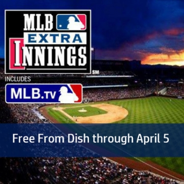 Watch all 30 Baseball Games on Opening Day - Free with Dish's One