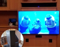 How a 'Custom' Integrator Hangs a TV