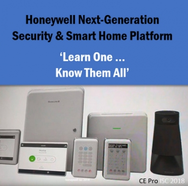 Honeywell 2019: Next-Gen Security & Home Automation is One