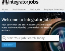 IntegratorJobs.com Merges Job Listings for Residential, Commercial, Security, IT Contractors