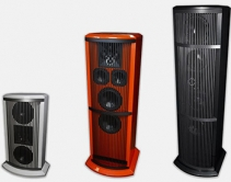 James Q-Series Speaker with Built-In Subs Complements Home Decor