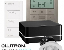 Lutron Unveils New Wireless Control, Thermostat, Lighting Fixtures, Exposed Shades