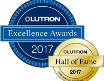 Lutron Announces 2017 Excellence Award Winners, Hall of Fame Inductees