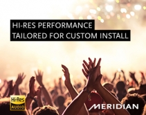 Unparalleled Hi-Res Performance, Tailored for Custom Install