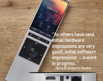 Early Reviews of Neeo Remote Control: Gorgeous Hardware, Flawed Software
