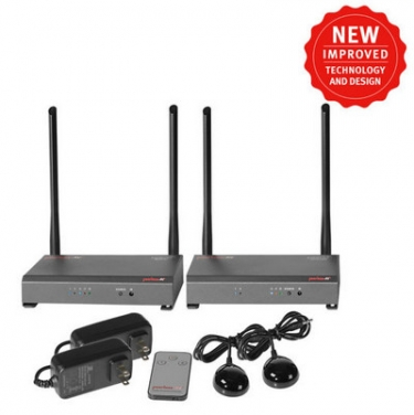 Peerless-AV Improves on PeerAir Wireless HD System for Home and Commercial Applications