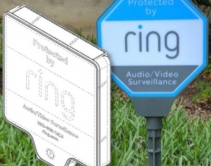 Ring Patents Solar-Powered Security Yard Sign