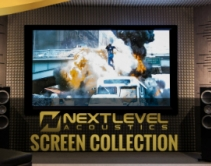 Next Level Acoustics Projection Screens Expand Company's Product Line
