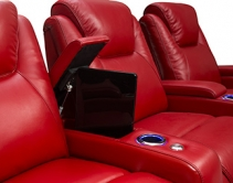 Seatcraft Equinox Home Theater Seats Include Lumbar Support
