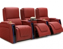 Seatcraft Apex Home Theater Seats Only Needs 6 Inches of Wall Clearance
