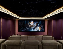Dolby Atmos Home Theater Gains Finishing Touch, a Starlit Ceiling