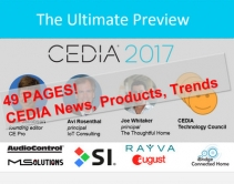 CEDIA 2017 Ultimate Preview Slides: 49 Pages of New Products, Tech Trends