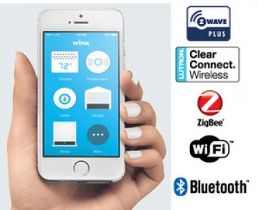 Wink Home Automation Hub Supports Wi Fi Bluetooth Z Wave