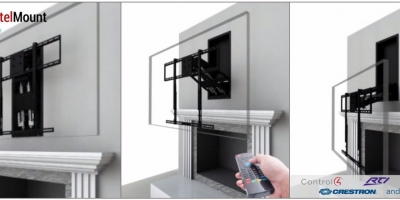cedia scoop vanco concealer turns sonos into in ceiling speaker ce pro. Black Bedroom Furniture Sets. Home Design Ideas