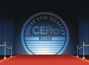 2015 CE Pro Quest for Quality Winners