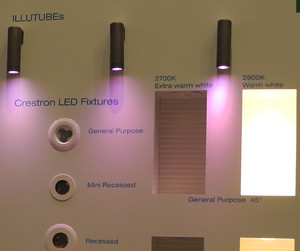 Crestron Debuts Smart Light Fixtures, Flexible CLWI Wireless Keypads