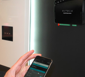 Vitrea, Maker of Elegant Glass Touchpads, Launches Home Automation at ISE
