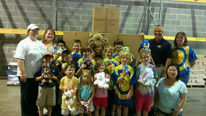 VMP Helps Cub Scouts Collect 700 Teddy Bears for Tornado Victims
